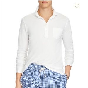 NWOT Ralph Lauren Mens Long Sleeve Polo